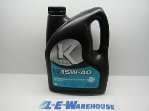 1 Gallon Genuine Kubota 15w40 Engine Oil