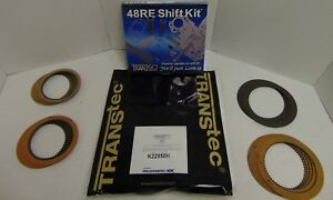 48re 03 Up Transmission Banner Rebuild Kit With A Transgo Shift Kit Dodge Ram
