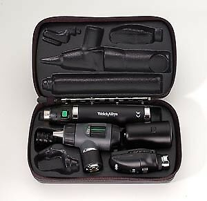 Welch Allyn 3 5v Coaxial Macroview Otoscope ophthalmoscope Sets