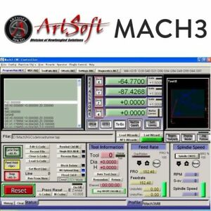 Engraving Control Cnc Software Artsoft Mach3 License For Lathes Mills Route