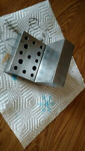 4 X 4 X 4 X 1 250 Steel Angle Plate With Tappe Holes Precision Ground Finishing
