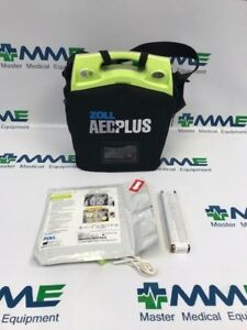 Zoll Aed Plus Public Use Aed Patient Ready 2 Year Warranty