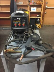 klutch Mig stick 220si 230v Multiprocess Welder With Spoolgun 230v 140 Amps