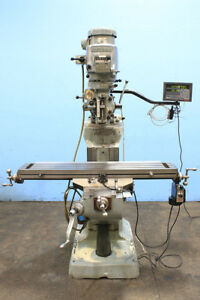 Series I Bridgeport Vertical Milling Machine New 1988 9 X 48 Table