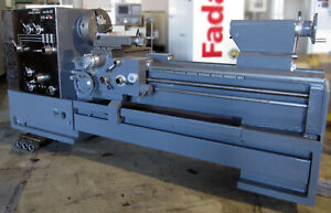 South Bend Nordic 25 x60 Gap Bed Lathe 16 3 4 jaw Chucks Quick Change Tool