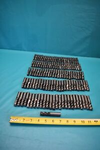 Used Lot Of 126 Helical 1 2 End Mills 4 Flute