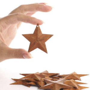 100 Rusty Barn Stars 2 25 In 2 1 4 Primitive Country Rusted Crafts Americana