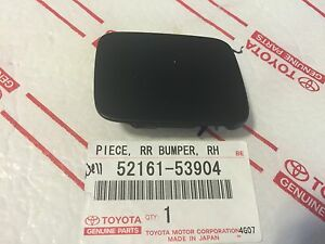 New Lexus Is250 Is350 Rear Right Bumper Tow Hook Cover Cap Clip Oem 2009 2013