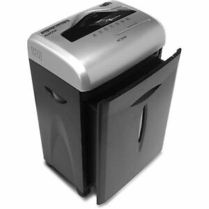 Commercial Office Paper Shredder Cross cut Heavy Duty Credit Card Cd 12 Sheet