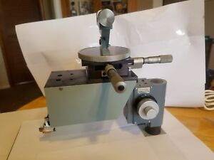 Tool Maker Microscope Micrometer Measure And Stand