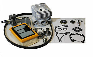 Cylinder Piston Rebuild Overhaul Kit For Stihl Ts700 Cutoff Saw W Crankshaft