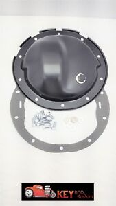10 Bolt Black Differential Rear End Cover Chevy Gm 8 5 8 1 2 Truck 1500 Camaro