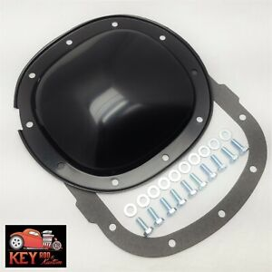 10 Bolt Black Differential Rear End Cover Chevy Gm 7 5 7 1 2 S10 Camaro 7 625