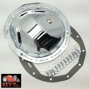 Chevy 12 Bolt Car 8 875 Chrome Differential Rear Cover Camaro Chevelle Gasket