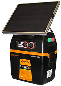 Solar Fence Charger B100 8 Joules