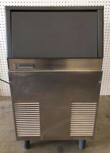 Used Scotsman Under counter Ice Maker Cse60a 1a