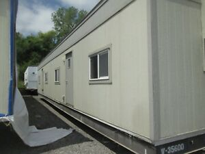 Used 2007 24 x64 Doublewide Mobile Office Trailer S 35599 600 Kc