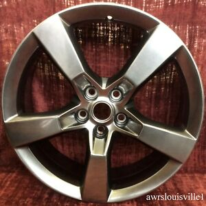 Chevrolet Camaro 2010 2013 Oem 20 Wheel 92230889 5444 Medium Smoked Hyper