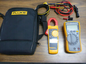 Fluke 116 323 Combo Multimeter Clamp Meter