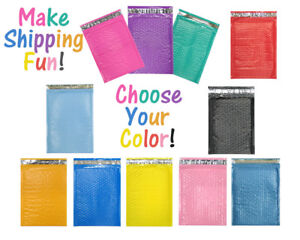 10 X 16 Choose Colors Poly Bubble Mailers Shipping Padded Envelopes 10 5 X 15