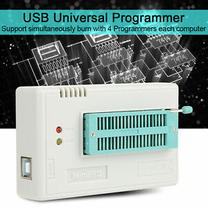 Tl866ii Plus Usb Universal Programmer Eprom Eeprom Flash Bios Avr Pic 10 Adapter