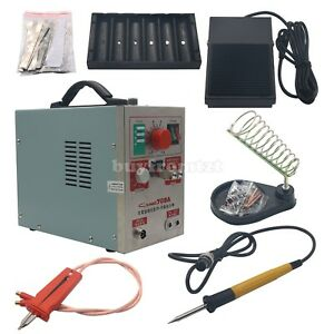 1 9kw Spot Welder Soldering Iron Staion 709a Battery Welding Machine 60a Us