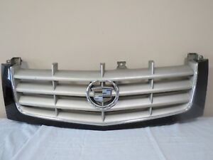 02 03 04 05 06 Cadillac Escalade Front Upper Radiator Grille Grill Mesh Oem Gm