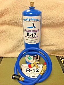 R12 Refrigerant R 12 28 Oz With Leak Stop Proseal Xl4 System Sealer R12 Gas
