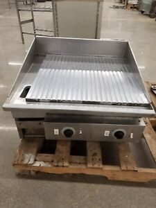 Keating 27 27fld Miraclean Electric Grill Griddle 24 X 24 Thermostatic Plate