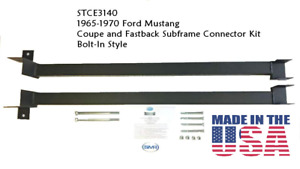 1965 1970 Ford Mustang Coupe And Fastback Subframe Connector Kit