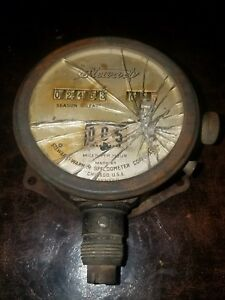 Antique Stewart Speedometer Stewart Warner
