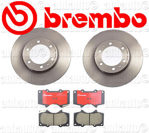 Brembo Front Brake Rotors pads Toyota With 319mm Disc 4runner tacoma fj Cruiser