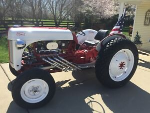 Ford 1948 8n Tractor Full Restoration Show Quality