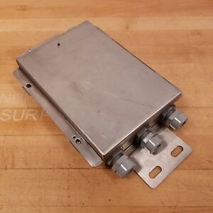 Mettler Toledo 13640300a Analog Junction Box Enclosure With Termial Board Used