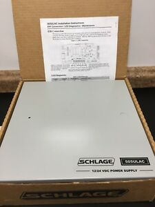 New Nos Schlage 505ulac Power Supply 1 Amp 12 24 Volts D c 505ulac