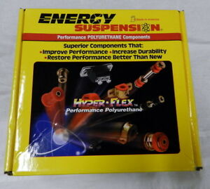 Energy Suspension 16 18103r Master Bushing For Civic del Sol Red