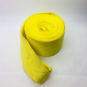 Unbranded Vehicle Recovery Strap 6 Wide By 30ft Long Yellow