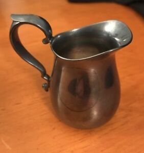 Reed Barton Signed Silverplate Individual Size Creamer Or Pitcher Pattern 964