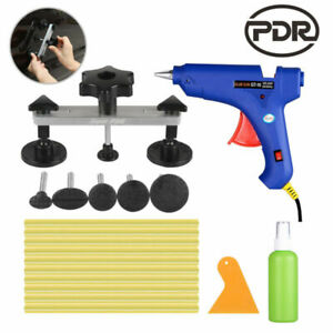 Us Pdr Dent Repair Painless Dent Removal Tools Slide Hammer Pulling Bridge Kit