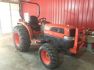 Kubota L3830 Farm Tractor 4x4 630 Hours Nice As U Will Find None Nicer
