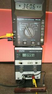 High Voltage Dc Power Supply 0 1000v 0 200ma Tested Hp6521a Pos Or Neg Output