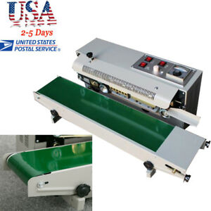 Pro Automatic Horizontal Continuous Plastic Bag Band Sealing Sealer Machine