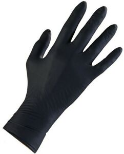 Large Non sterile Gloves Textured finger For Construction medical 200 count