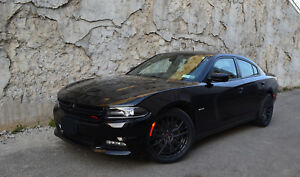 4 Gwg Wheels 20 Inch Staggered Matte Black Flare Rims Fits Dodge Charger 2015