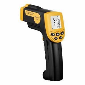 Digital Laser Ir Thermometer Non contact Temperature Gun With Lcd Backlit