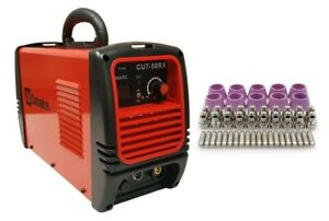 Plasma Cutter 25 Cons Simadre 50a 50rx 110 220v Easy 1 2 Clean Cut Power Torch