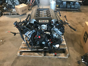 2015 Mustang Gt 5 0 Coyote Complete Engine 6 Speed Manual Pull Out 66k Miles
