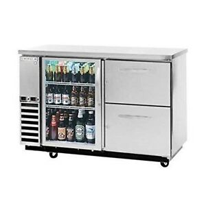 Back Bar Cooler Beverage Air Dzd58g 1 s 2 Gently Used