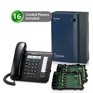Panasonic Kx tda50g dt521 2card Hybrid Ip Pbx Telephone System And 16 Digital