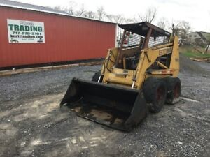 1992 Case 1845c Skid Steer Loader Needs Engine Work
